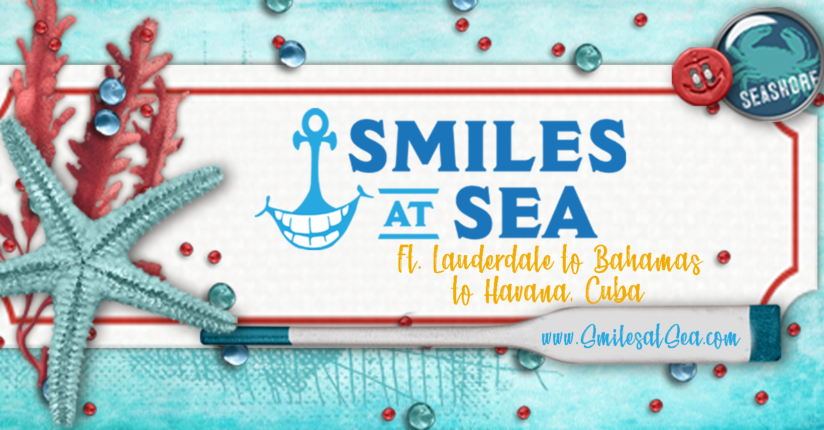 Smiles at Sea - Cuba & Bahamas March 2019