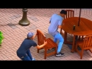 The mad chair pullout pranks that could cause a major beatdown