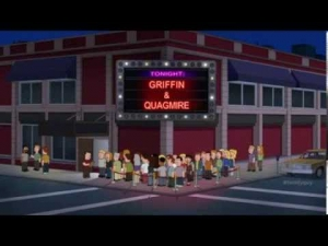 "Is ""Family Guy"" wrong for this clip?"