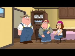 The word play with Peter Griffin
