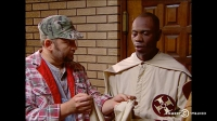 Clayton Bigsby was born blind and told that he was white, it got funny