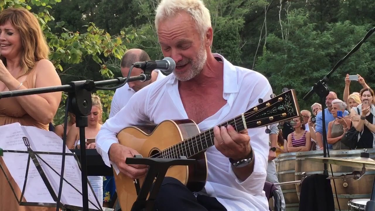 Sting does cameo appearance and dominates the show