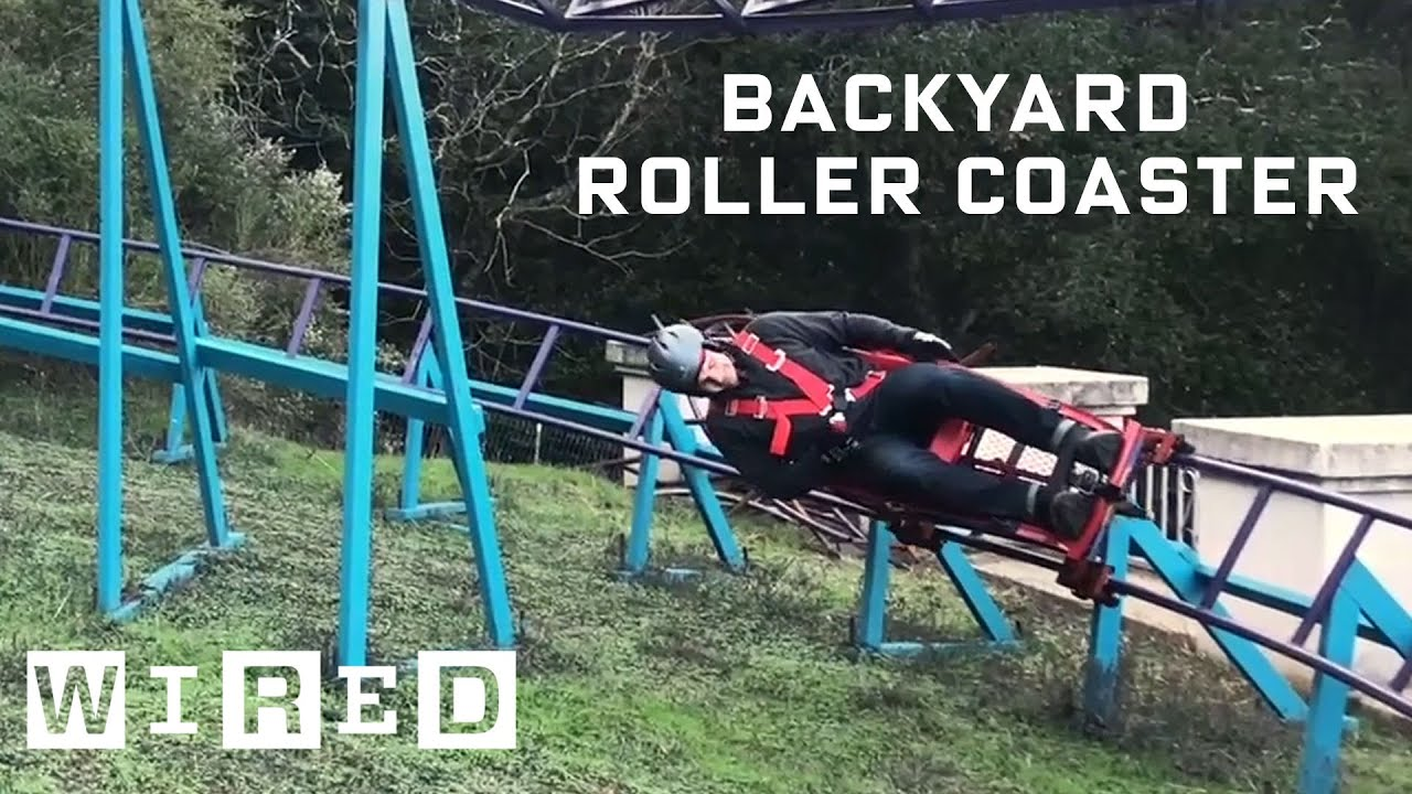 Get a roller coaster in your backyard